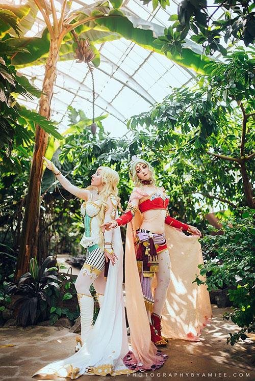 Terra & Celes from Final Fantasy VI Cosplay