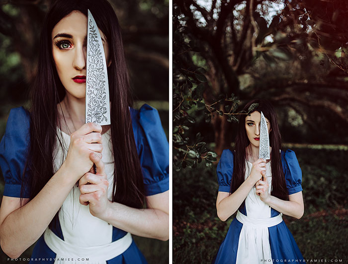 American McGees Alice Cosplay