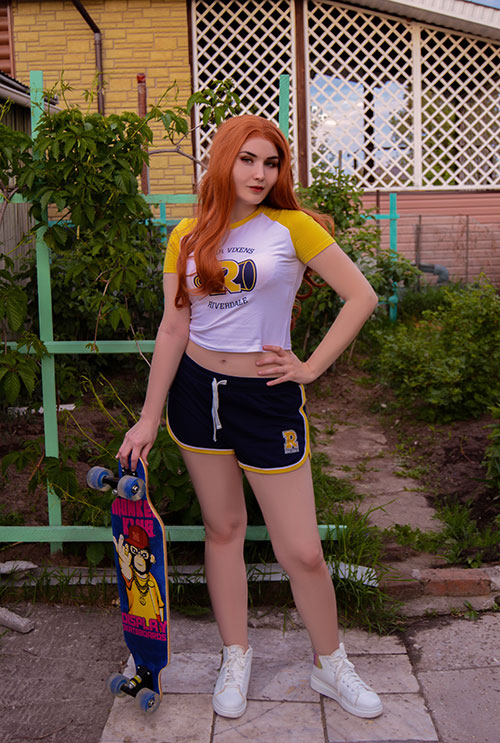 Cheryl Blossom from Riverdale Cosplay
