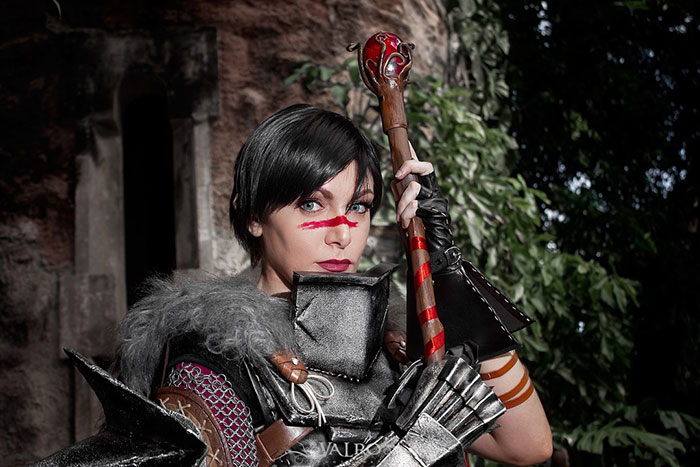 Hawke from Dragon Age Cosplay