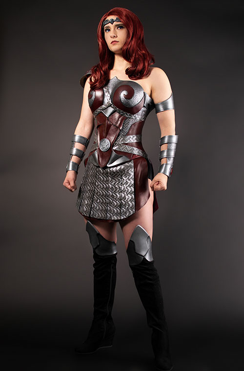 Queen Maeve from The Boys Cosplay