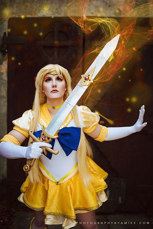 Sailor Mars & Venus from Sailor Moon Cosplay