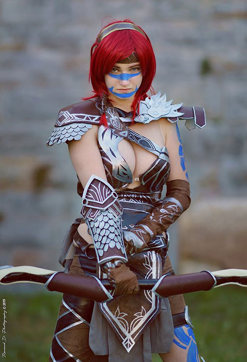 Eir Stegalkin from Guild Wars 2 Cosplay