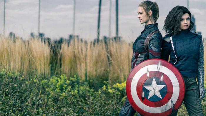 Captain America & Bucky Cosplay