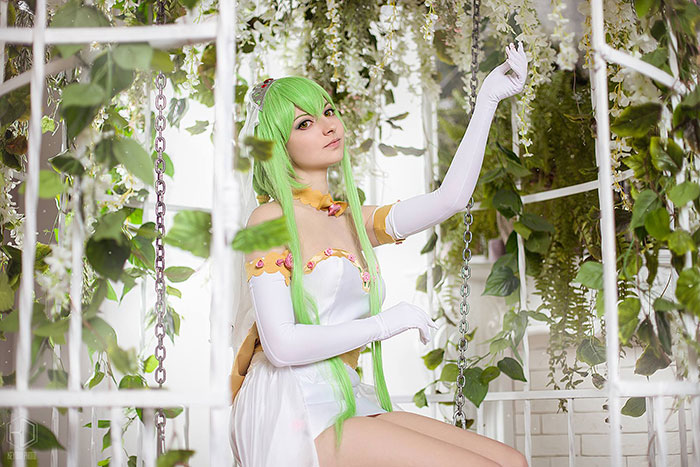 CC from Code Geass Cosplay