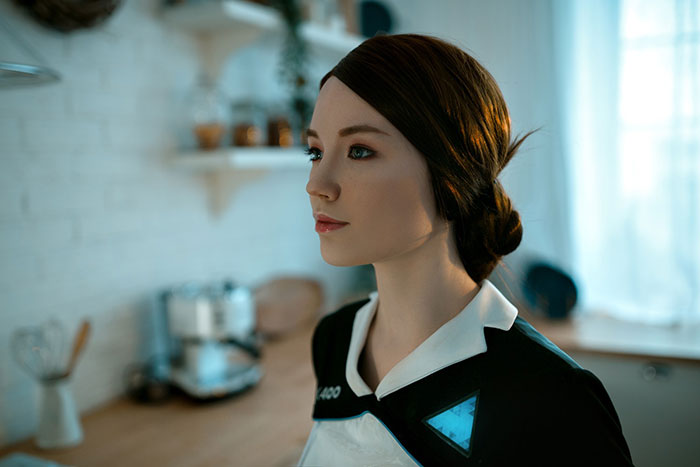 Kara from Detroit Become Human Cosplay