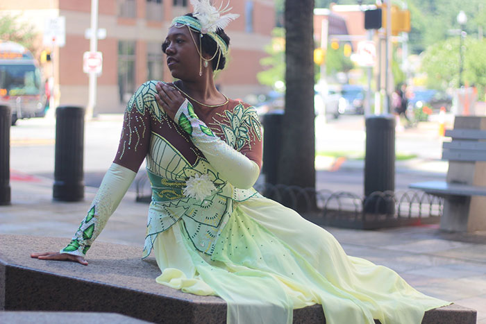Tiana from The Princess and the Frog Cosplay