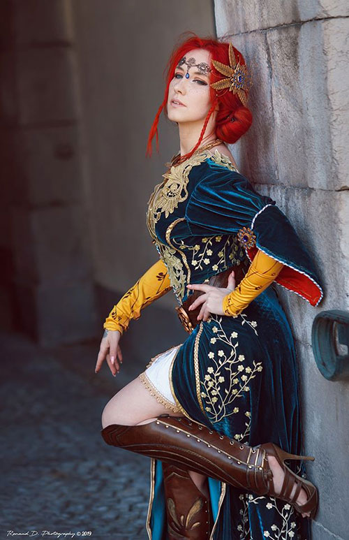Triss from The Witcher 3: Wild Hunt Cosplay
