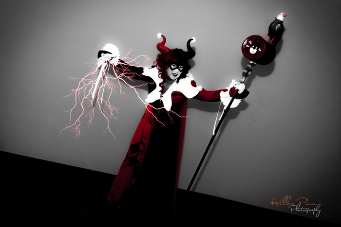Harley Quinn Maleficent Mashup Cosplay
