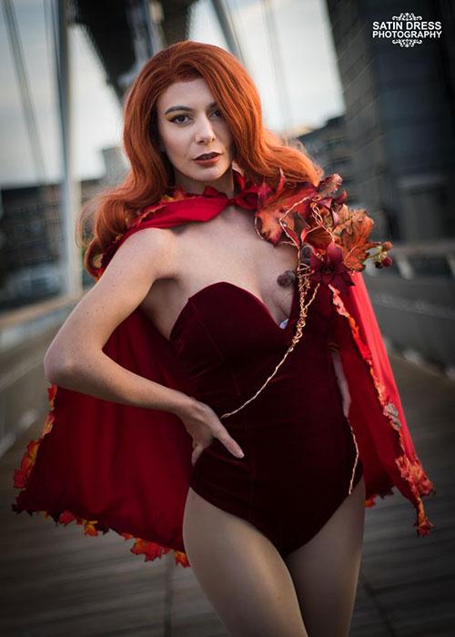 Autumn Poison Ivy Cosplay