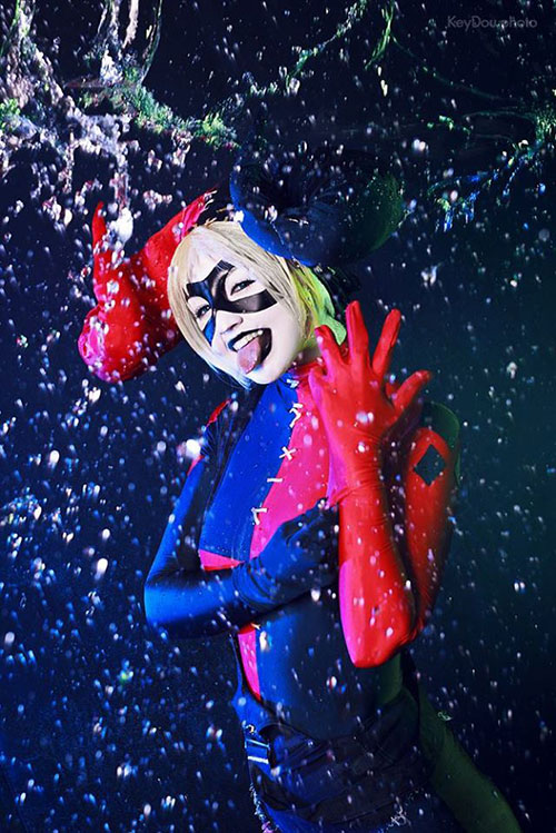 Harley Quinn Fan Art Cosplay