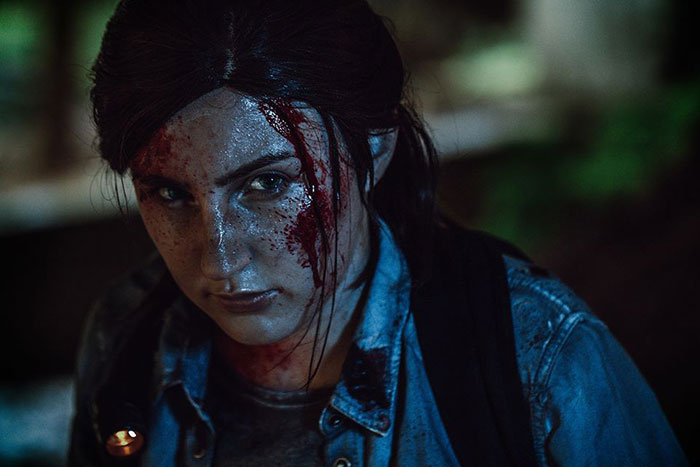 Ellie from The Last of Us Part II Cosplay