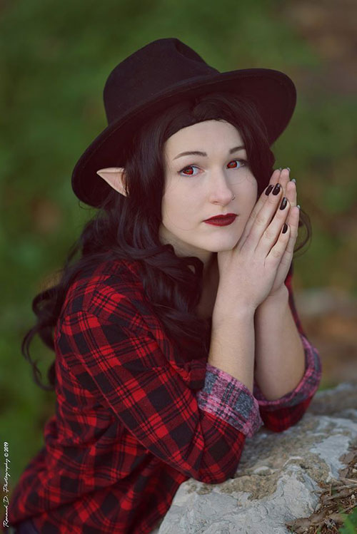 Marceline from Adventure Time Cosplay