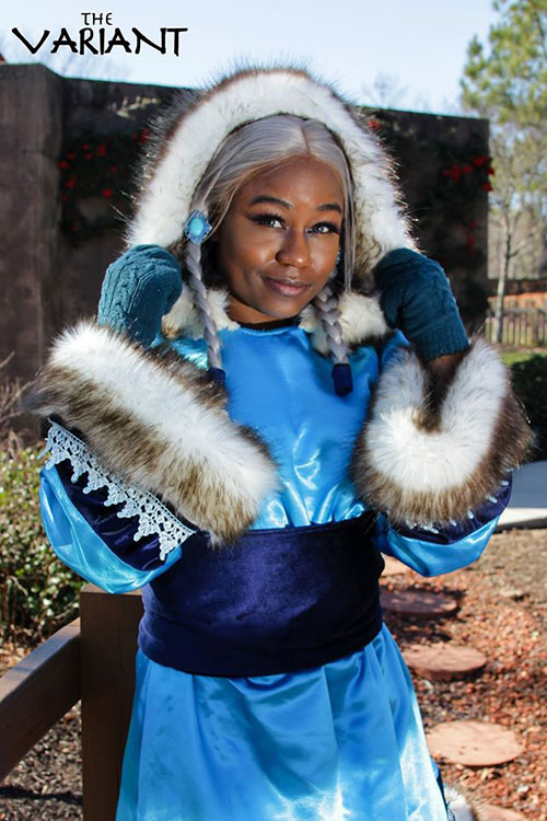 Princess Yue from Avatar: The Last Airbender Cosplay