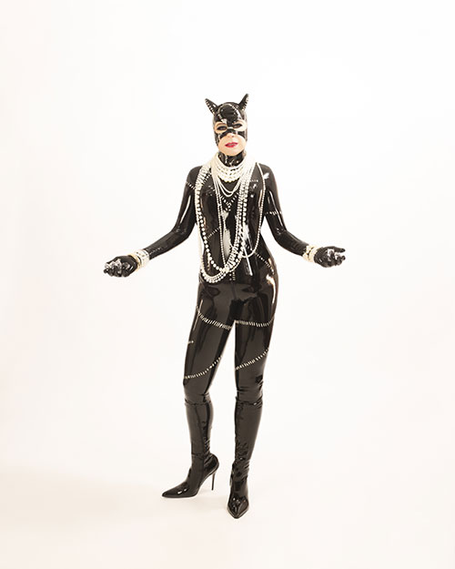 Catwoman Latex Cosplay