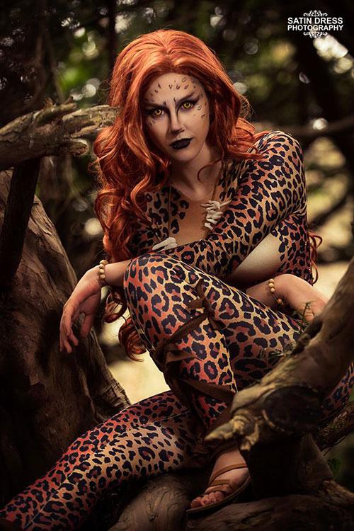 Cheetah from DC Comics Cosplay