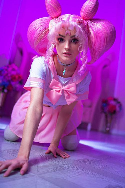 Chibiusa from Sailor Moon Cosplay