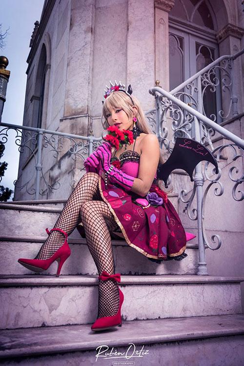 Little Devil Kotori Minami from Love Live! Cosplay