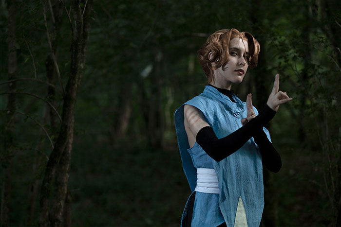 Sypha Belnades from Castlevania Cosplay