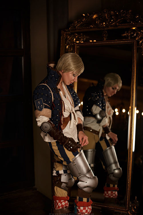 Ves from The Witcher 3: Wild Hunt Cosplay