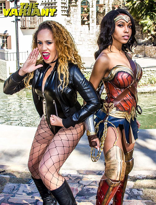 Wonder Woman & Black Canary Cosplay