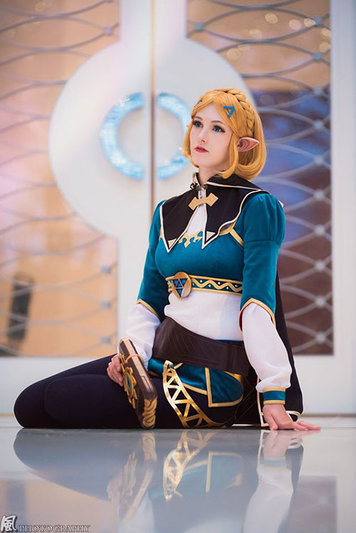 Zelda from The Legend of Zelda: Breath of the Wild Cosplay