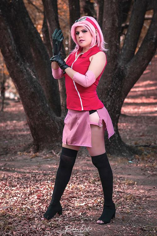 Sakura Haruno from Naruto Cosplay