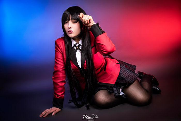 Yumeko Jabami from Kakegurui Cosplay