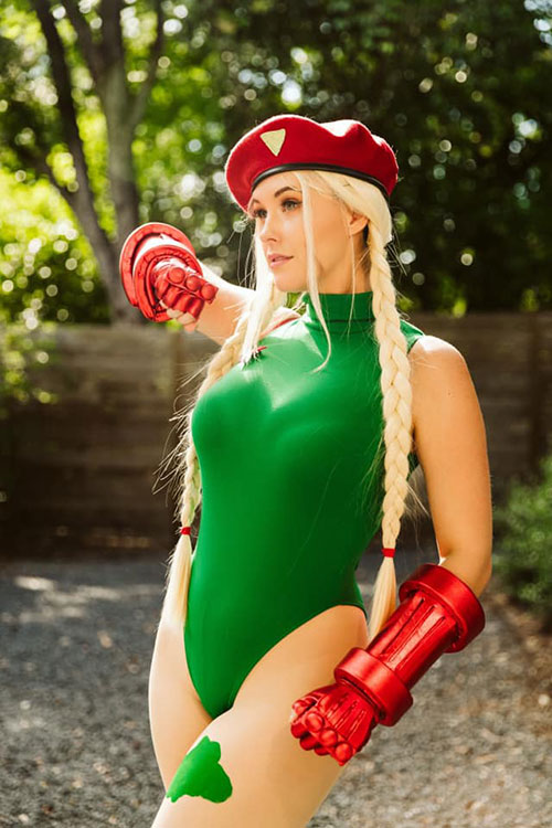Cammy from Street Fighter Copslay