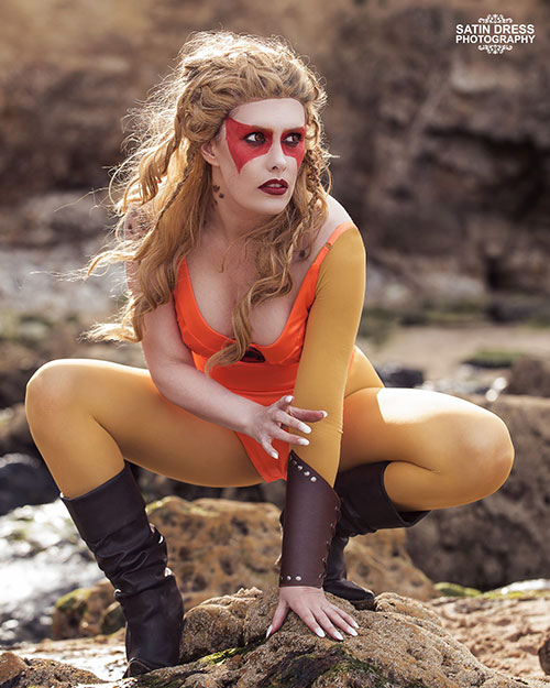 Cheetara from ThunderCats Cosplay