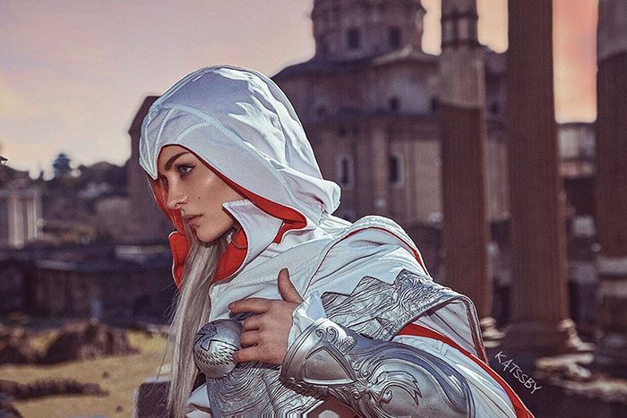 Ezio Auditore from Assassins Creed II Cosplay