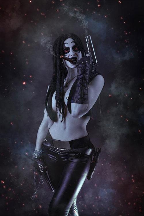 Genderbent Lobo from DC Comics Cosplay