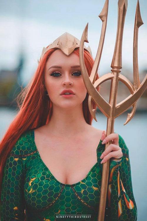 Mera from Aquaman Cosplay