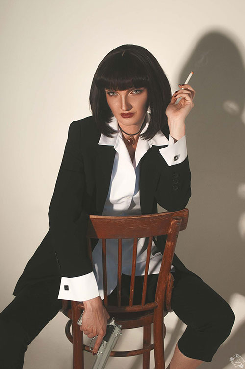 Mia Wallace from Pulp Fiction Cosplay