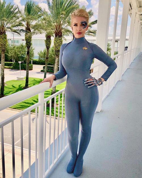 Seven of Nine from Star Trek Cosplays