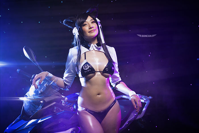Atago from Azur Lane Cosplay
