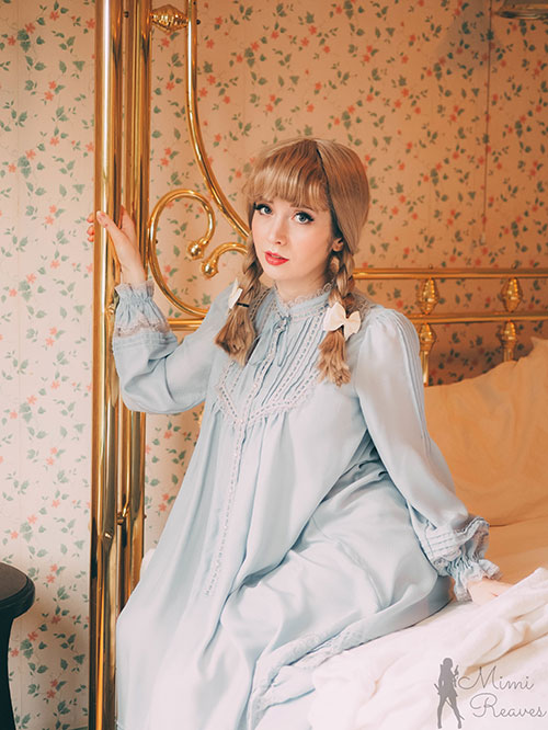 Cinderella Nightgown Photoshoot