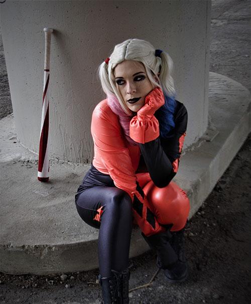 Halloween Harley Quinn Cosplay