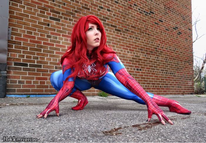 Mary Jane Watson from the Spider-Verse Cosplay