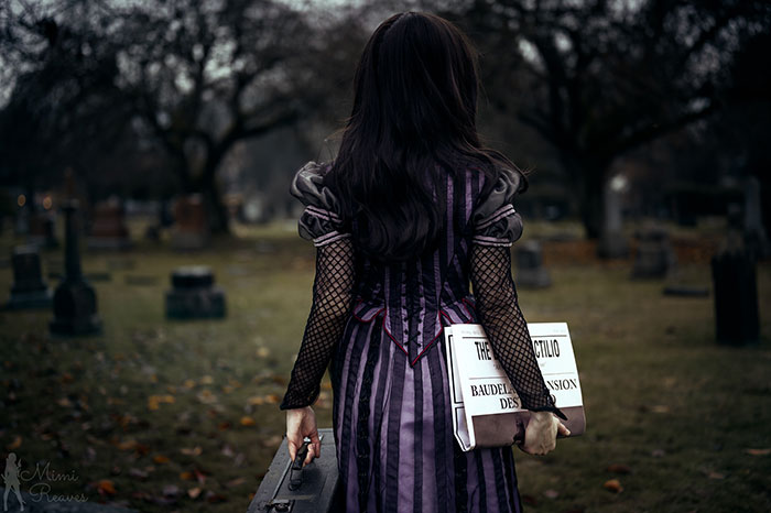 Violet Baudelaire from A Series of Unfortunate Events Cosplay