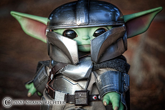 Beskar Baby from The Mandalorian