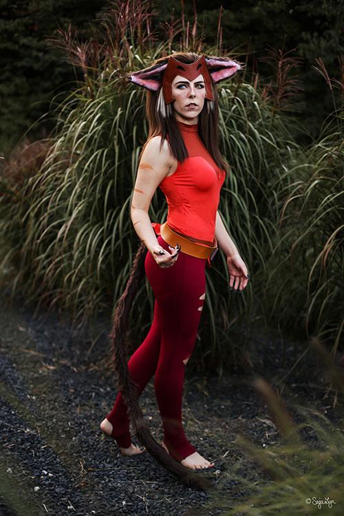 Catra from She-Ra Cosplay