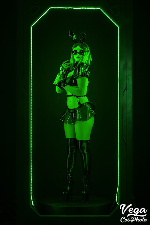 Cyber Bunny Cosplay