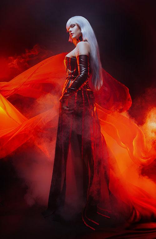 Dark Sakura from the Fate Series Cosplay