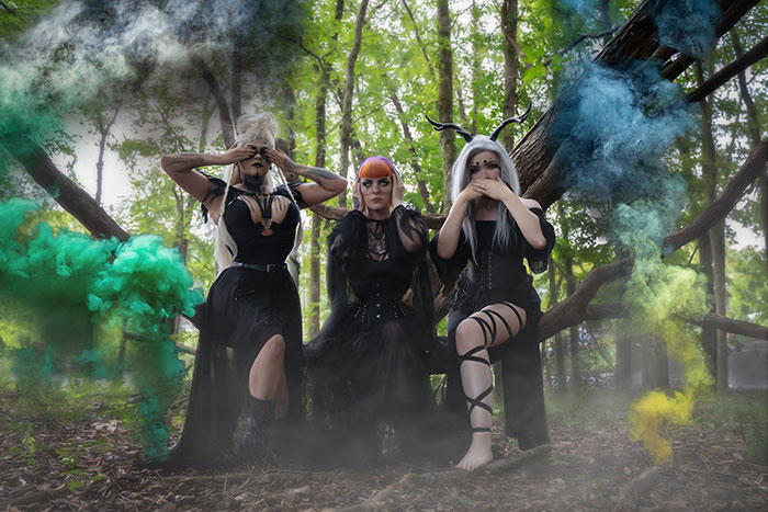 Witches Group Cosplay