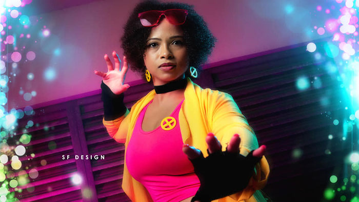 Jubilee from X-Men Cosplay