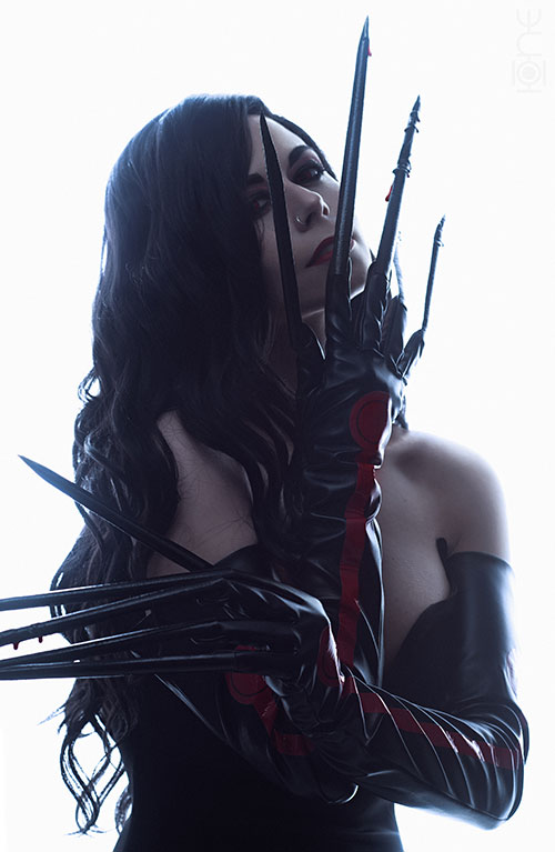 Lust from Full Metal Alchemist Cosplay