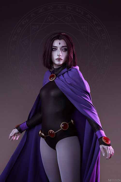 Raven from Teen Titans Cosplay