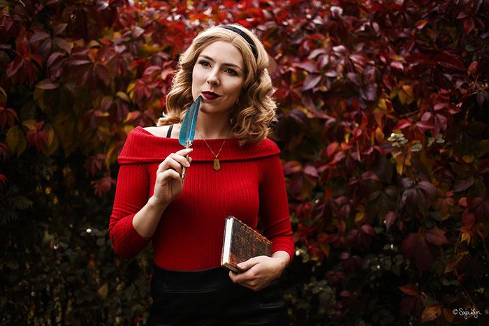 Sabrina Spellman from Chilling Adventures of Sabrina Cosplay