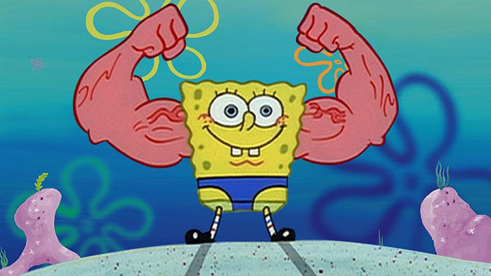 MuscleBob BuffPants (SpongeBob SquarePants with Anchor Arms) Cosplay